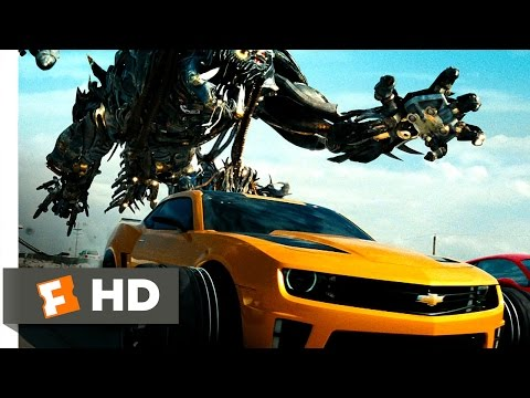 Transformers: Dark of the Moon (3/10) Movie CLIP - Autobots vs. Decepticons (2011) HD