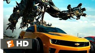 Transformers: Dark of the Moon (3/10) Movie CLIP - Autobots vs. Decepticons (2011) HD
