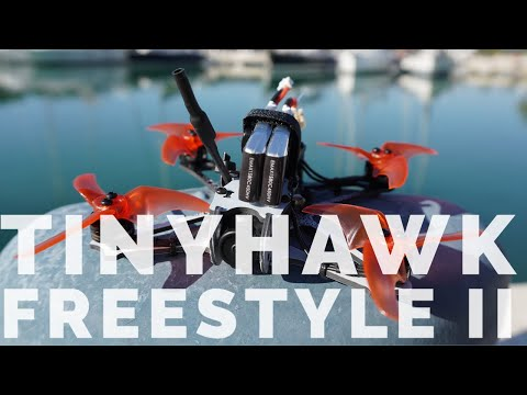 Emax Tinyhawk Freestyle II - Review - Test flight