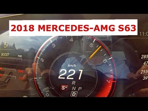 Mercedes-AMG S63 2018 are sub capota un motor de 4.0Litri Twin-Turbo