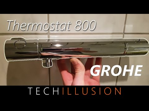 🔥GROHE Brausenthermostat Duschthermostat 800 - Grotherm 800 - Review & Test