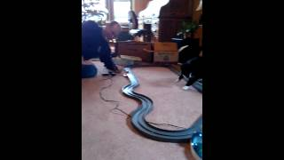 Nitro, The Slot-Car Dancing Cat