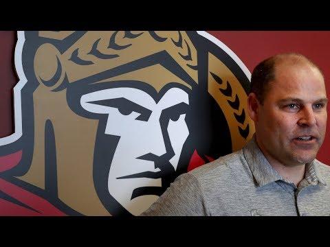 Ottawa Senators getting ready for the NHL draft