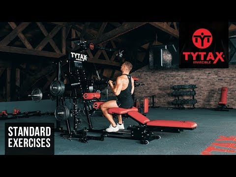 TYTAX® M1 | Seated Reverse Grip Lever Pulldown