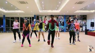HP   Maluma (Choreography) ZUMBA || DANCE || FITNESS || At Global Sport Center Balikpapan