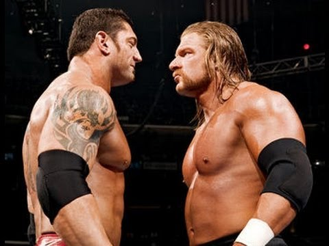 Batista Returns 2013 And Saved Triple H From Brock Lesnar