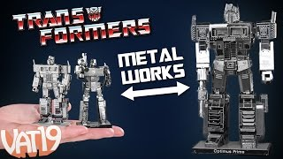 Video for Transformers Metal Models