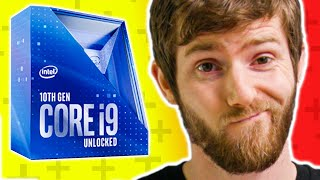 """What """"Hanging on for Dear Life"""" Looks Like... Intel Core i9 10900K & i5 10600K Review"""