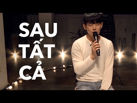 Paul Kim hát Sau Tất Cả Live KTV V LIVE