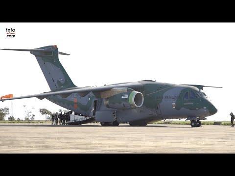 Se espera que el programa KC-390 de Embraer alcance con éxito mercados internacionales