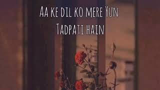 O Sanam by lucky Ali (lyrics) - YouTube