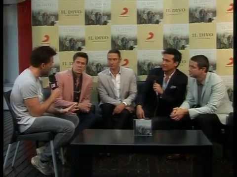 Il Divo video Entrevista Argentina - Noviembre 2015