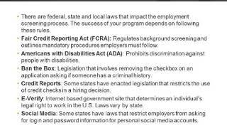 Thumbnail for Employee Background Checks