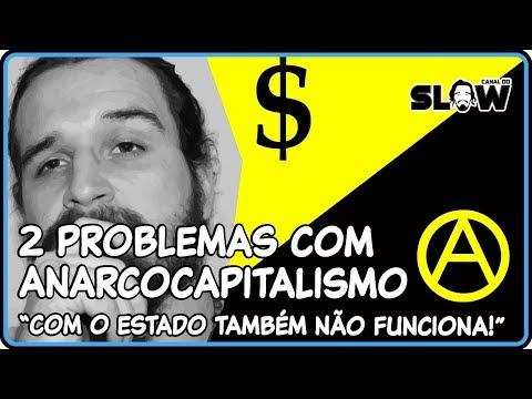 2 PROBLEMAS COM O ANARCOCAPITALISMO! | Canal do Slow 49