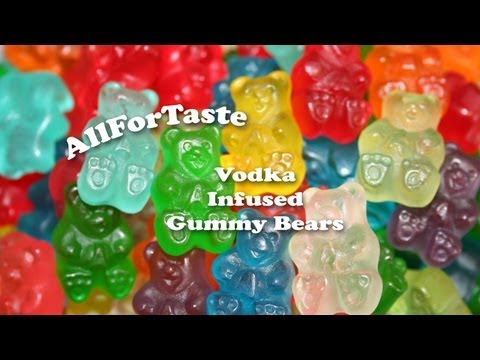 Vodka Infusion Project – Gummy Bears Infused With Vodka and Triple Sec