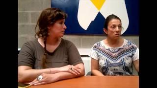 Laura Roa y Tatiana Menvielle