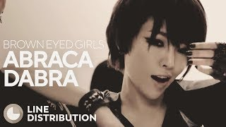 BROWN EYED GIRLS - Abracadabra (Line Distribution)