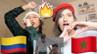 Gambar cover LATINA GIRL REACTS TO MOROCCAN SONG Zouhair Bahaoui - Hasta Luego ft TiiwTiiw & CHK