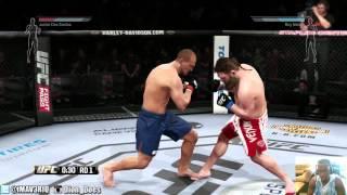 UFC - UFC Knockouts - BLUE BELT TITLE MATCH - UFC Fights 2014 | Ea Sports UFC