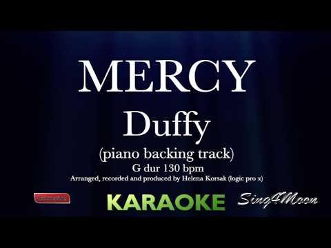 Mercy Duffy karaoke (piano instrumental)