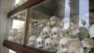 preview picture of video 'The Killing Fields, Choeung Ek, Phnom Penh, Cambodia'