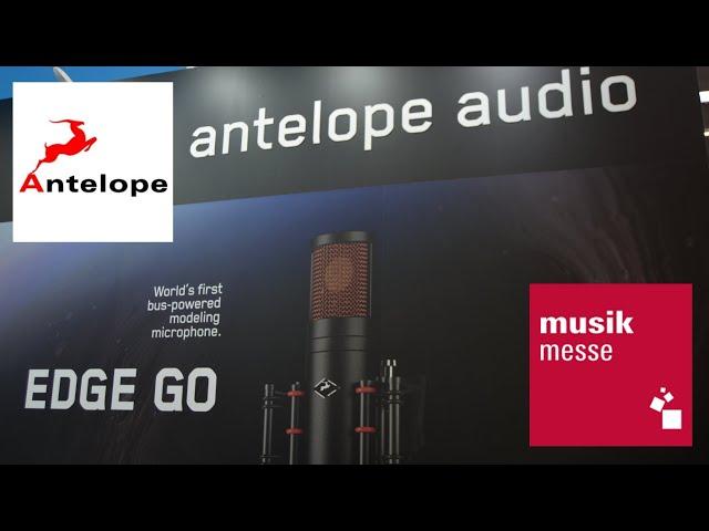 Antelope Audio EDGE GO: моделирующий USB-микрофон (Muikmesse 2019)