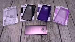 Samsung Galaxy Note 9 Tech21 Cases