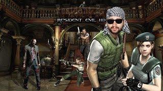 Resident Evil 1( SpeedRun)+Resident evil Remaster HD - Gameplay Español