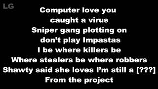 Kodak Black Ft. Mr.Flipper - Lil Shoota Love Lyrics