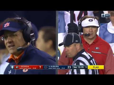 Auburn Defense vs Georgia Offense 2017