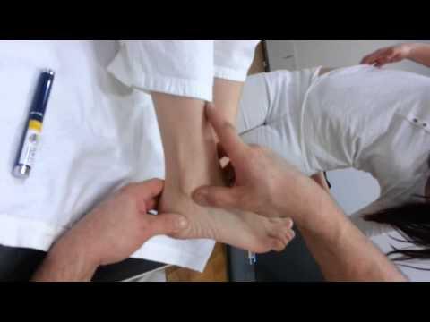 Osteochondrose der Lendenwirbelsäule Turnhalle
