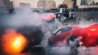 FIRE AND MAYHEM AT THE ROYALTY EXOTIC CARS / ELITE TUNER MEET VEGAS 2019