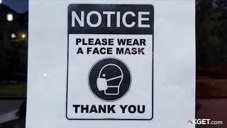 County asks businesses to put up signs requiring patrons put on masks before entering