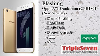 Oppo A3s Flashing Error