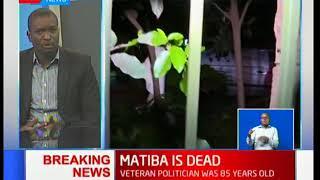 ODM secretary general, Edwin Sifuna reaction to Matiba's death