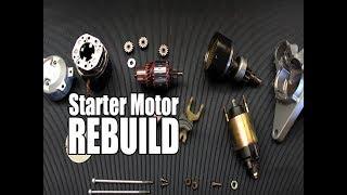 2004 Honda Civic Starter Motor Rebuild | DIY