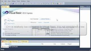 Visual Basic Tutorial - 1 - What Is Visual Basic