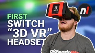 """The First Nintendo Switch """"3D VR"""" Headset - NS Glasses Review"""