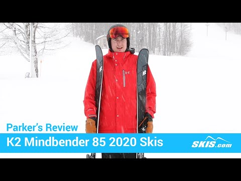 Video: K2 Mindbender 85 Skis 2020 16 40
