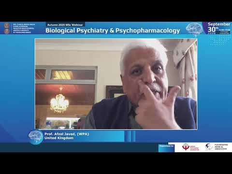 Javed Α. - Greetings and introductory words about the Webinars in collaboration with the World Psychiatric Association