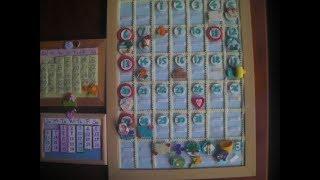 #可愛いカレンダーの作り方♥手作り♥来年も使えます
