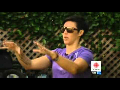Tara Llanes: pedal perseverance | CBC News Vancouver