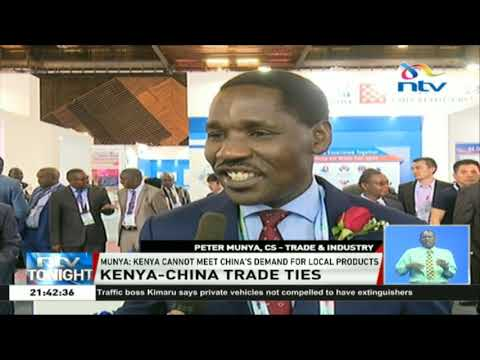 Munya: Kenya cannot meet China's demand for local products