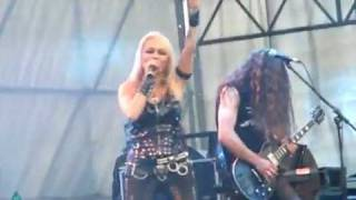 "Masters Of Rock 2010 - Doro Pesch ""Breaking the Law"" + ""All We Are"""