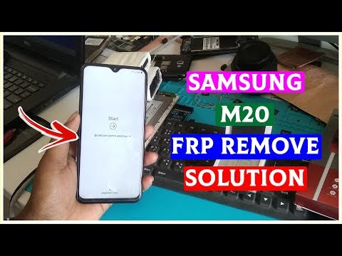 Samsung M20 (2019) Google Account Lock Frp Lock Remove/Bypass 100% Tested Solution