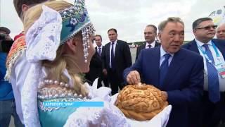 В Уфу прибыл Президент Казахстана Нурсултан Назарбаев