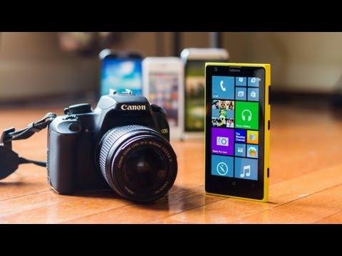 Nokia Lumia 1020 vs DSLR: Full Review!
