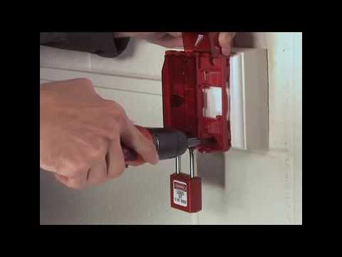 Screen capture of Master Lock Safety 496B - Universal Wall Switch Cover