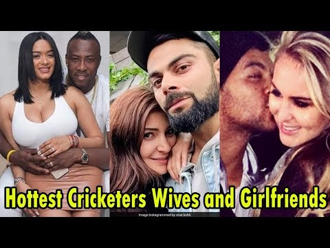 Top 10 Cricketers Hottest Wives and Girlfriends 2019 || Andre Russell's Wife Videos