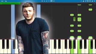 James Arthur   Quite Miss Home   Piano Tutorial